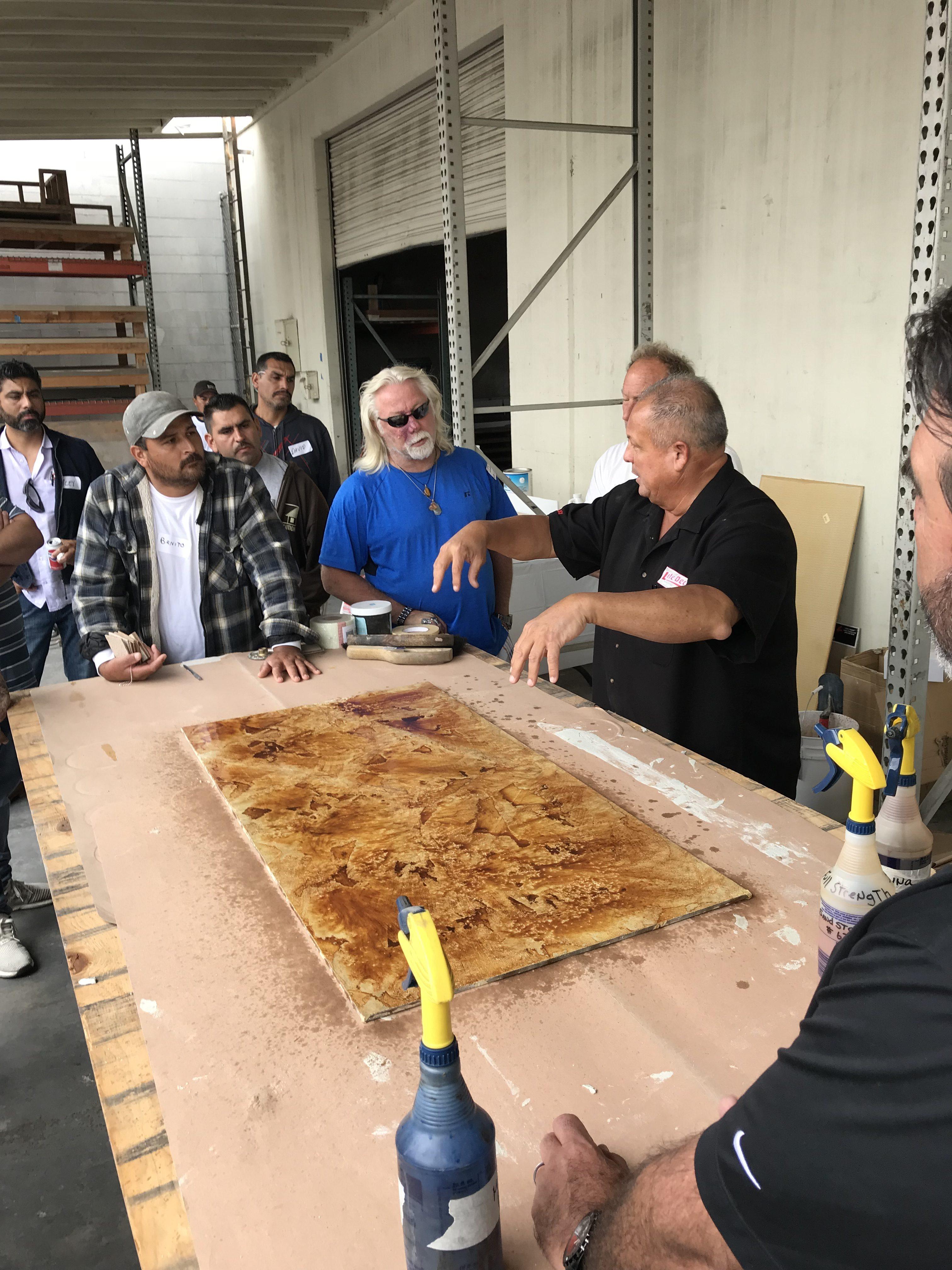 Americrete, Life Paint, and Life Deck Demo